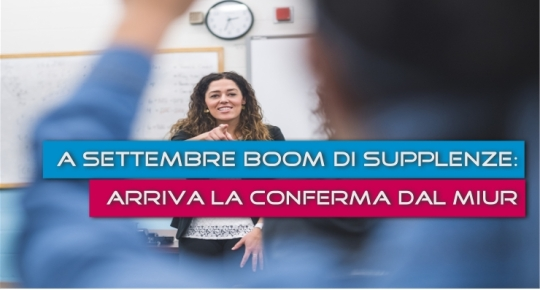 Supplenze scuola