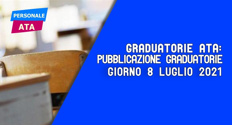 Graduatorie ATA pubblicazione graduatorie
