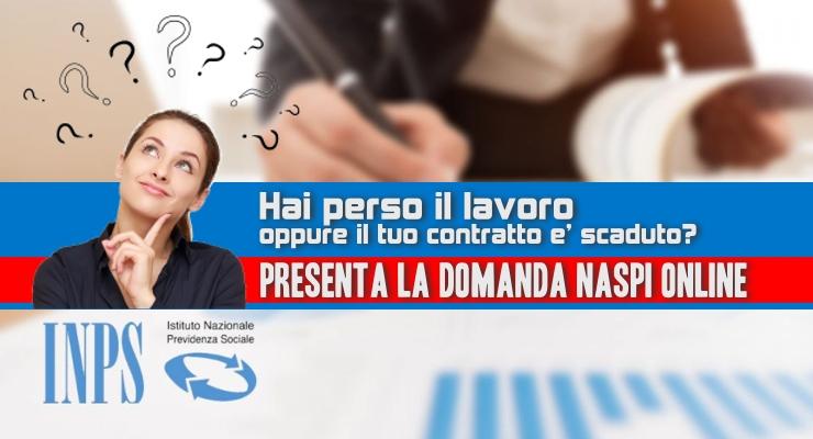 Presenta la Domanda Naspi Online